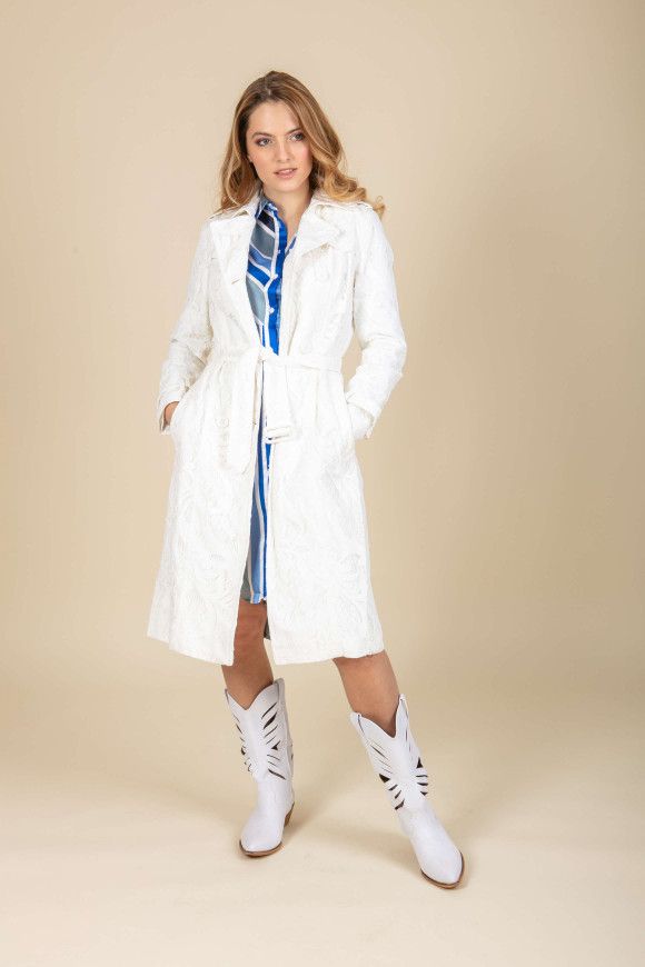 TRENCH IN PIZZO GINEVRA