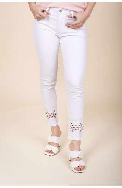 Jeans Regular White