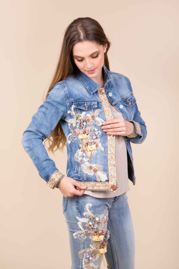 Giacca Jeans 3D Eloise